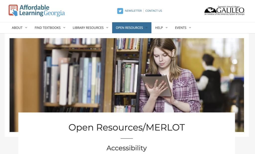 Affordable Learning Georgia