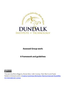 Assessed Group-work: A framework and guidelines
