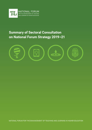 Summary of Sectoral Consultation on National Forum Strategy 2019–21