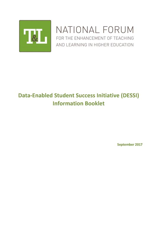 Data-Enabled Student Success Initiative (DESSI) Information Booklet