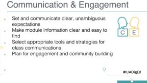 EDTL Approach: Consider Communication & Engagement