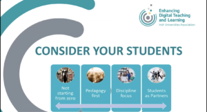 EDTL Approach: Consider your Students