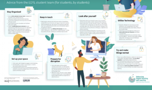 EDTL Approach for Students: planning for effective learning during Covid-19. Advice from the EDTL student team (for students