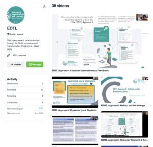 EDTL Vimeo Webinar Channel