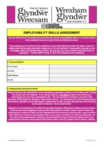 Employability Skills Assessment