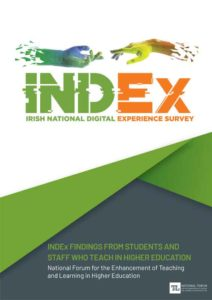 Irish National Digital Experience (INDEx) Survey: Findings from students and staff who teach in higher education