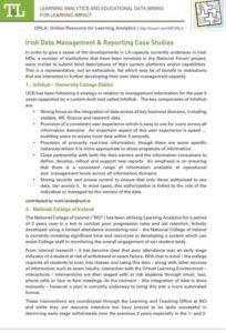Irish Data Management & Reporting Case Studies