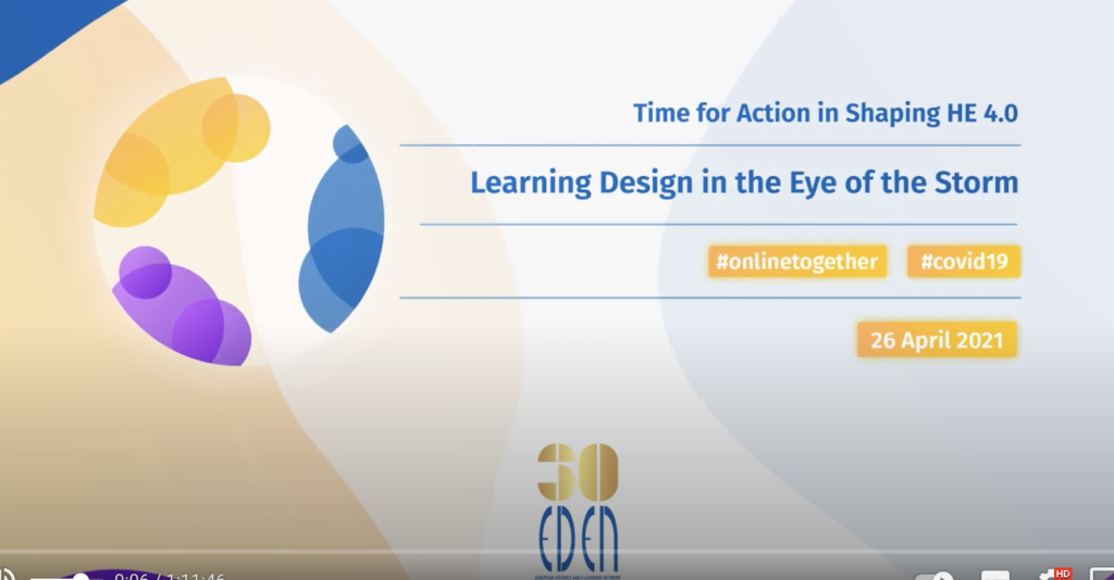 Learning Design in the Eye of the Storm