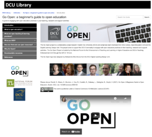 LibGuide: Go Open: a beginner's guide to open education