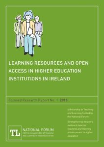 Learning Resources and Open Access in Higher Education Institutions in Ireland
