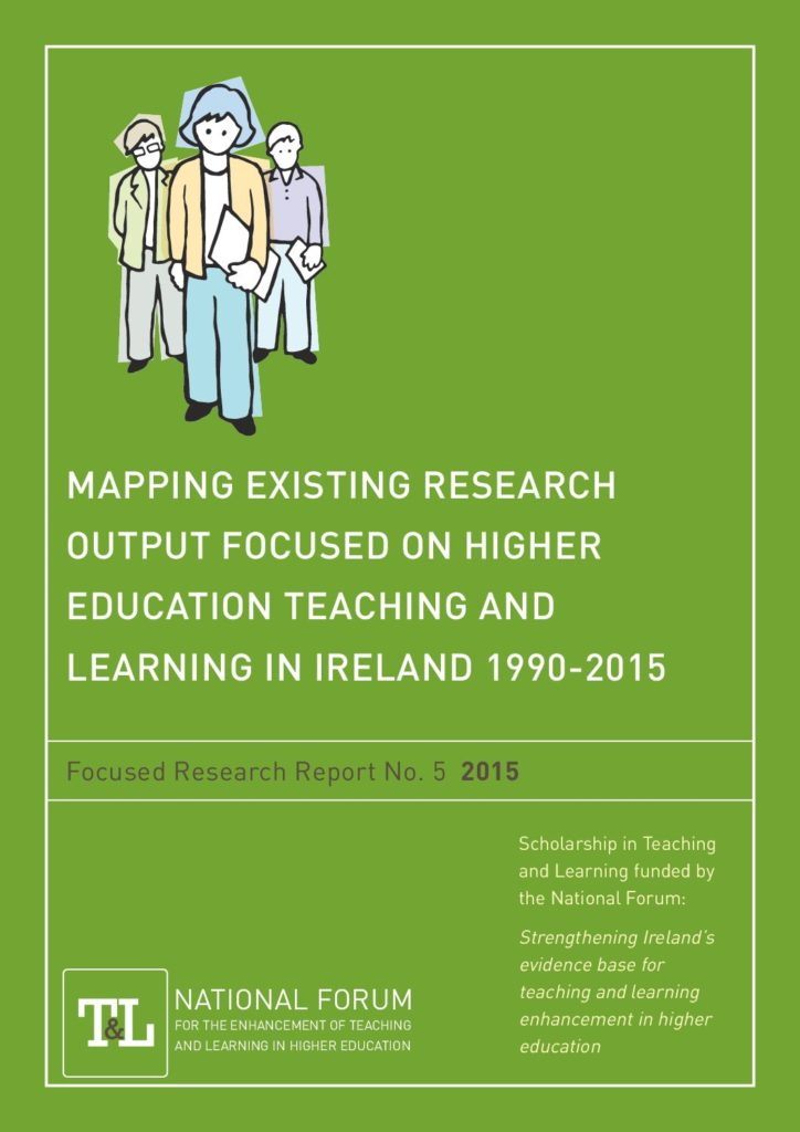 Mapping Existing Research Output focused on Higher Education Teaching and Learning in Ireland 1990-2015