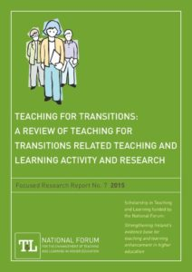 Teaching for Transitions: A Review of Teaching for Transitions Related Teaching and Learning Activity and Research