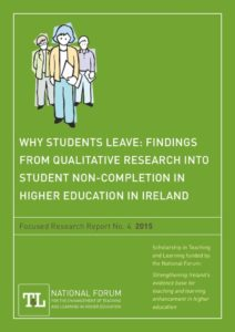 Why Students Leave: Findings from Qualitative Research into Student Non-Completion in Higher Education in Ireland