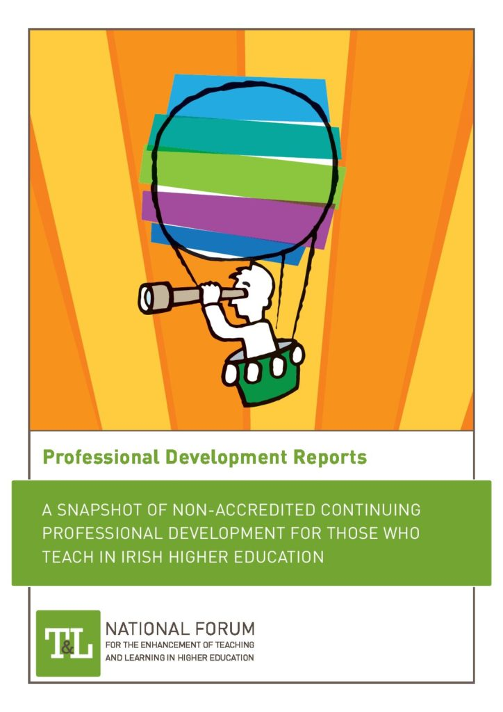 A Snapshot of Non-Accredited Continuing Professional Development for those who Teach in Irish Higher Education