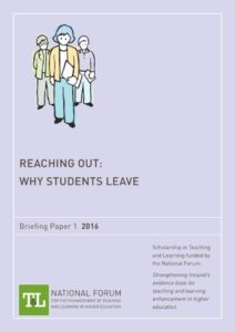 Reaching Out: Why Students Leave