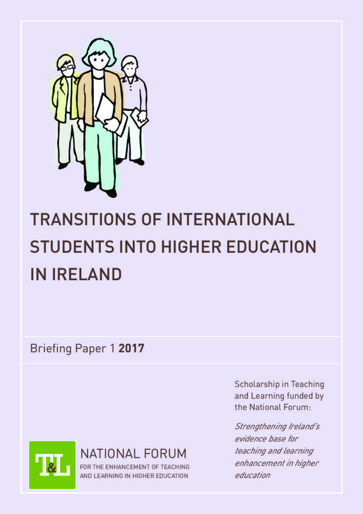 Transitions of International Students into Higher Education in Ireland