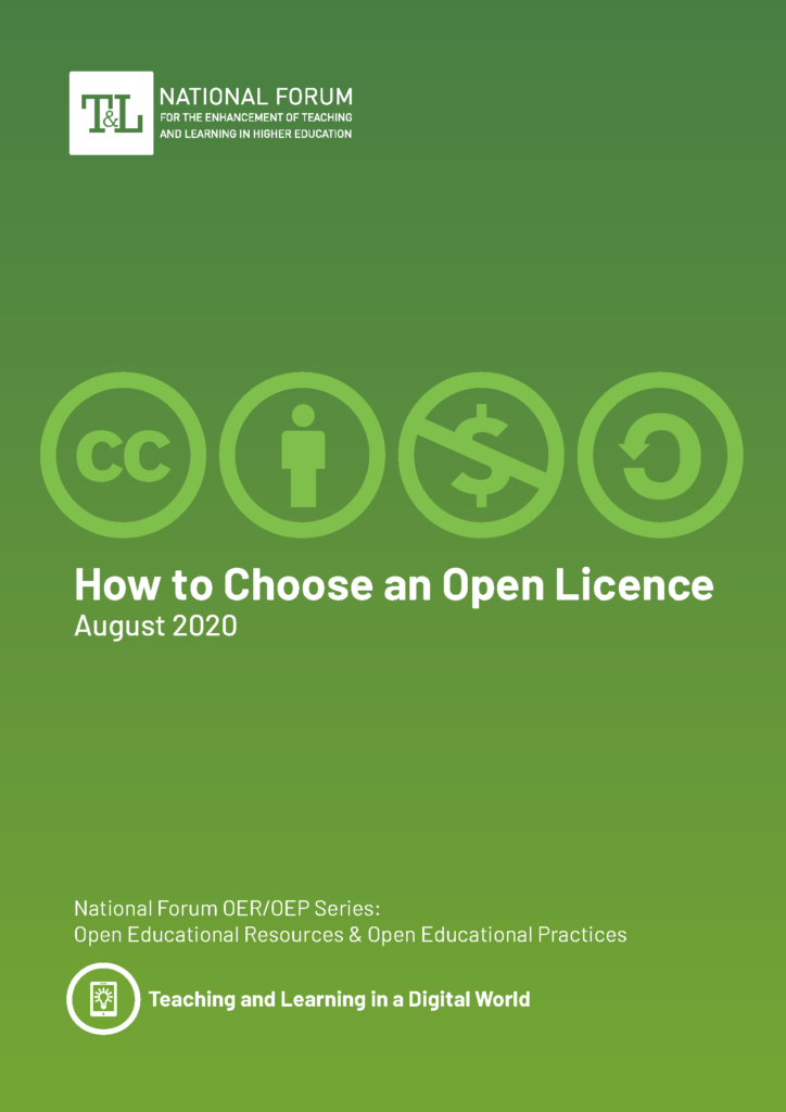 How to Choose an Open Licence