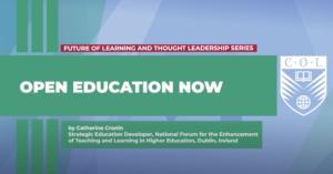 Open Education Now