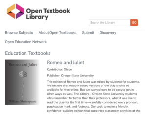 Open Textbook Library - Education