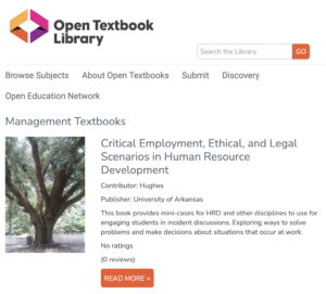 Open Textbook Library - Management