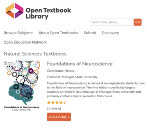 Open Textbook Library - Natural Sciences