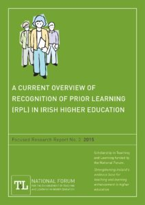 A Current Overview of Recognition of Prior Learning (RPL) in Irish Higher Education