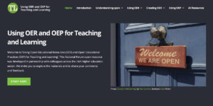 Resource: Using OER and OEP for Teaching and Learning