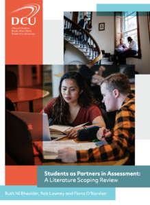 Students as Partners in Assessment (SaPiA): A Literature Scoping Review