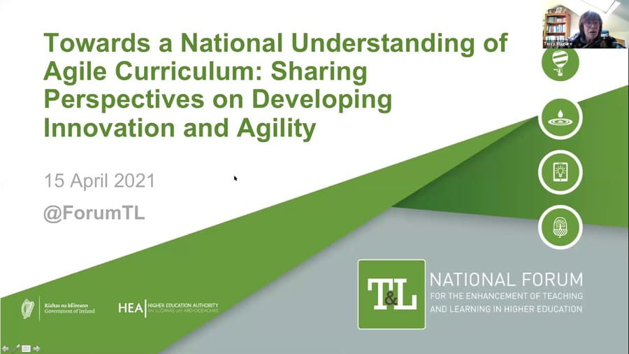 Webinar: Building a Shared Understanding of Agile Curricula. Part 1