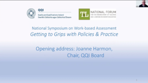 Work-based Assessment: Getting to Grips with Policies and Practices